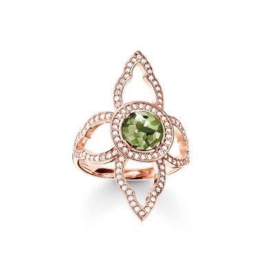 Gold Plated Gems Ring