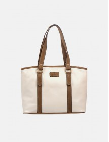 Caprese Satchel (White)